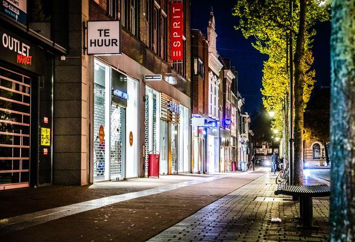 Ondernemingen in de binnenstad van Dordrecht, ter illustratie.