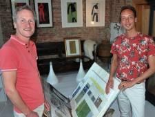 Droom Daniël en Koos komt uit: een pakhuis vol met kunst in Bad Bentheim