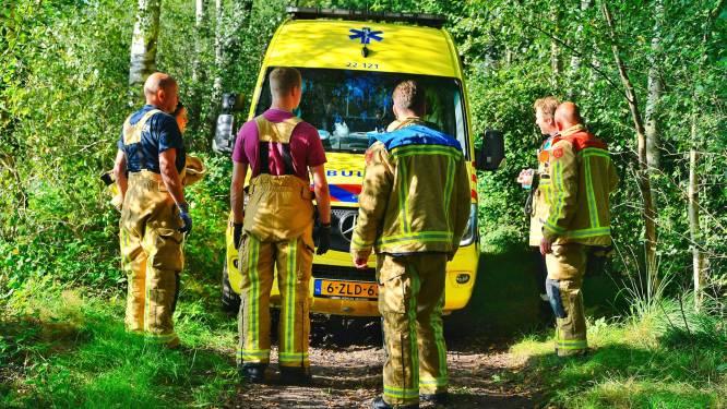 Motorrijder breekt been in bossen bij Valkenswaard
