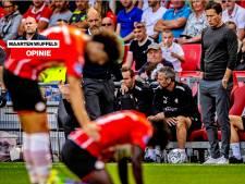 Bij PSV gaat spierballenvoetbal nog steeds boven positiespel