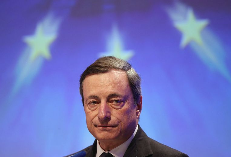 Mario Draghi. Beeld Getty Images