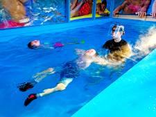 Niet afzwemmen in binnenbad door corona? Zetten we toch een verwarmde zeecontainer in de tuin: 'Net de McDrive'