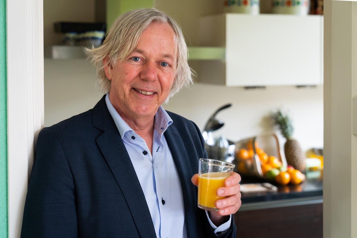 Wethouder Jan Kuiper drinkt veertig dagen geen alcohol.