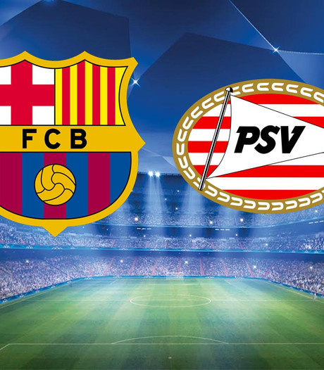 PSV wil stunten in Camp Nou