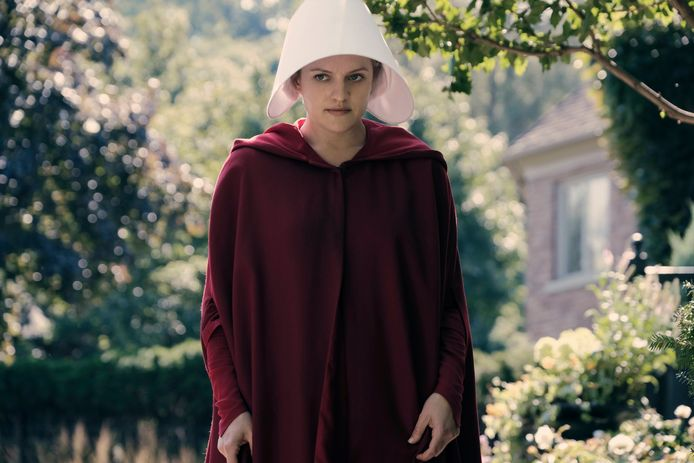 June Offred in The Handmaid's Tale.