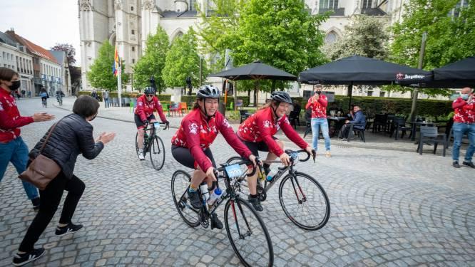 Geen '1.000 kilometer', toch heleboel fietsers onderweg voor Kom op tegen Kanker