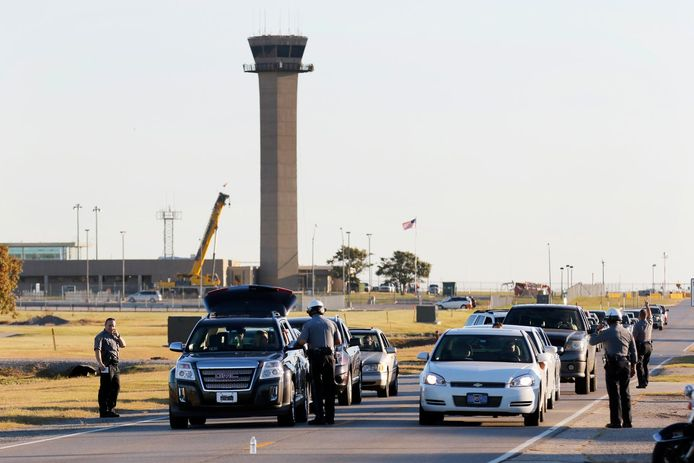 De Will Rogers World Airport in Oklahoma City. Archieffoto.