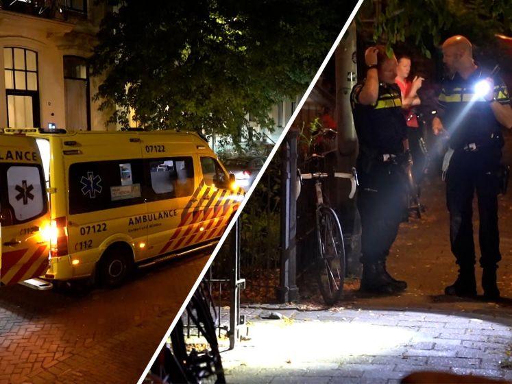 Betrapte inbreker valt van balkon in Arnhem