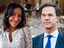 Rutte vroeg Halina naast hem te zitten bij Correspondents' Dinner