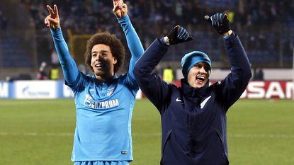 Witsel bezorgt Zenit de volle buit in Kazan