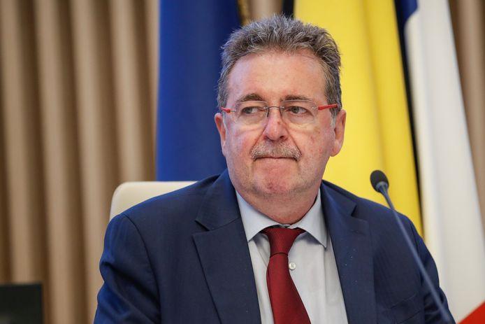 Minister-president Rudi Vervoort