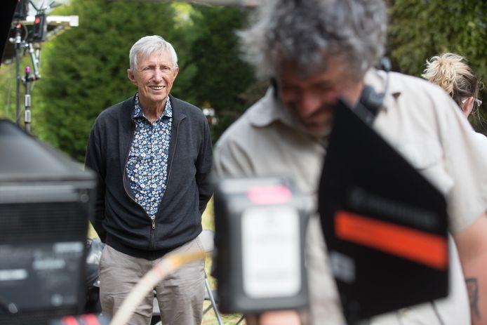 René Swartenbroekx kwam even kijken naar zijn dochter An ( Bieke )