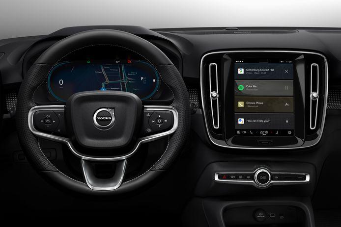 De XC40 heeft samen met de Polestar 2 de wereldprimeur van Google Android als besturingssysteem in een auto.