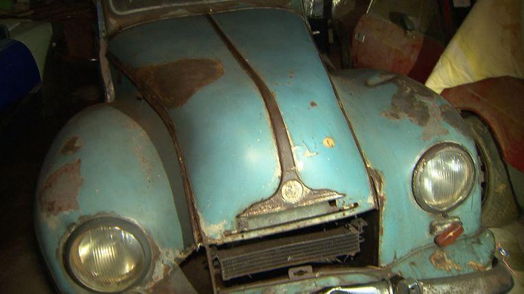 Deze BMW was ooit van Eva Braun.