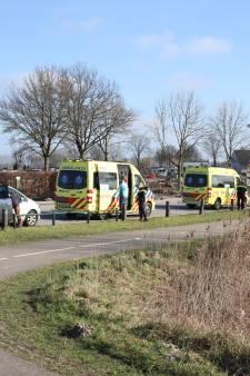Twee gewonden door botsing in Enspijk