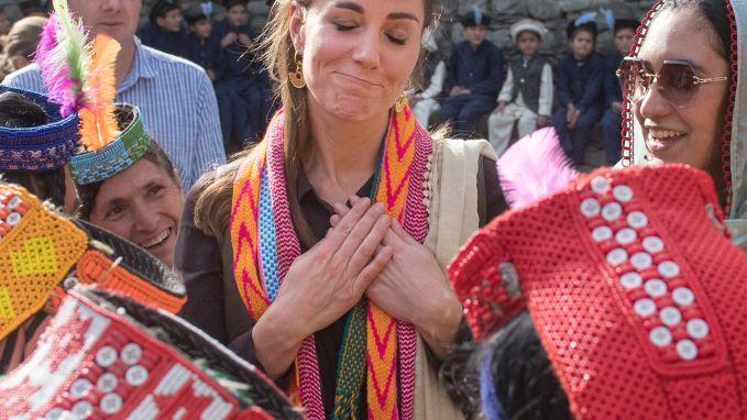Pakistaanse pluim voor Kate