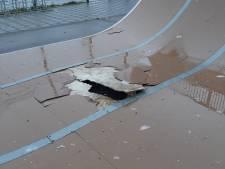 Skatebaan in Zierikzee vernield met zwaar vuurwerk