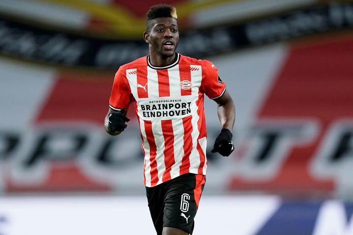 Ibrahim Sangare is dit seizoen een van de krachtbronnen van PSV.