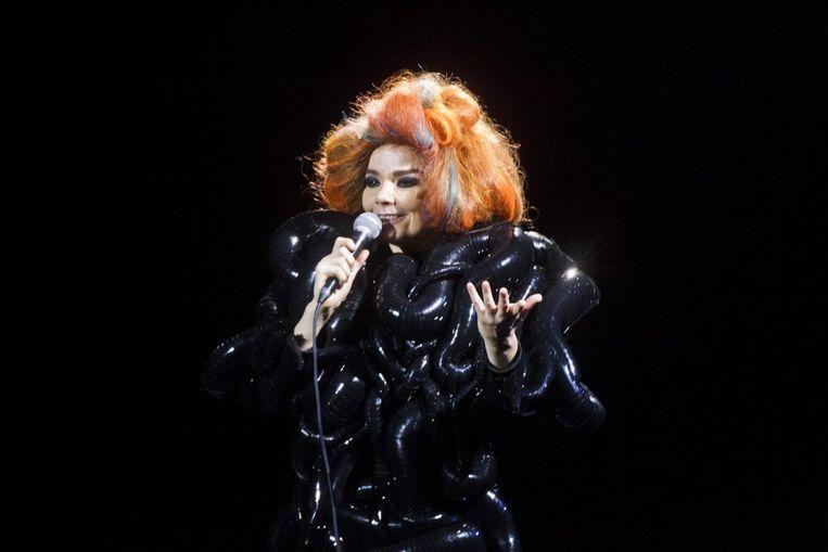 Björk. Beeld epa