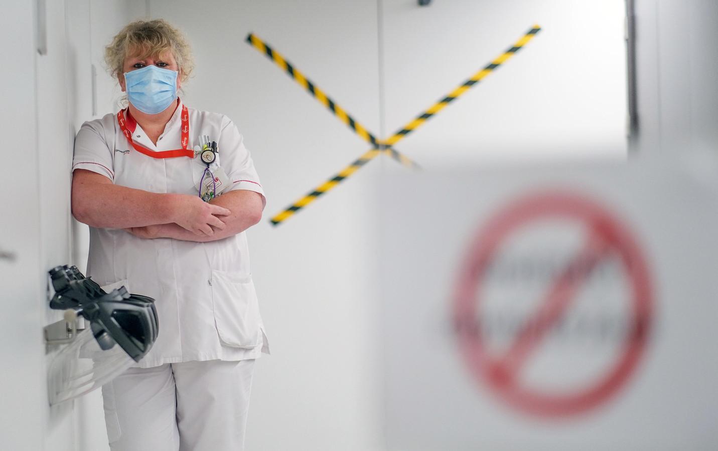 Fabienne Van Meerhaeghe was hoofdverpleegkundige op de corona-afdeling.