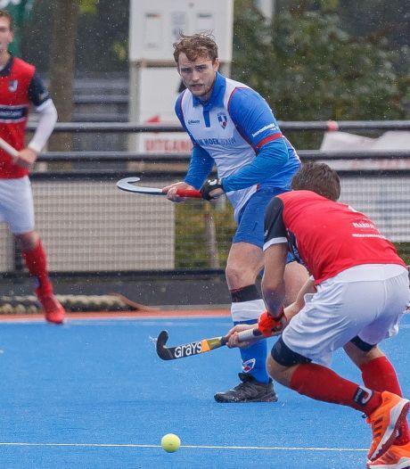 Goaltjesdief Jeremy Bourgonje kan HC Zwolle niet weer aan de winst helpen