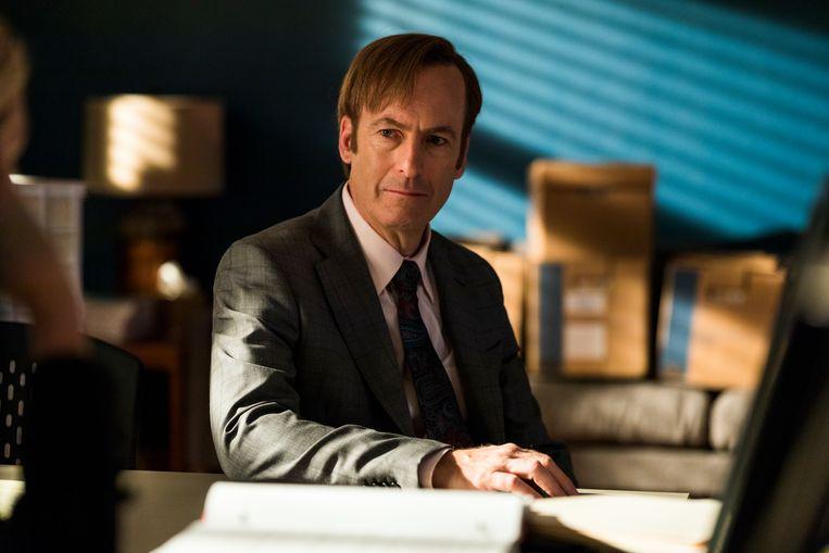 'Better Call Saul': Bob Odenkirk (l.) in de rol van zijn leven.  Beeld RV Michele K.Short/AMC/Sony Pictures Television