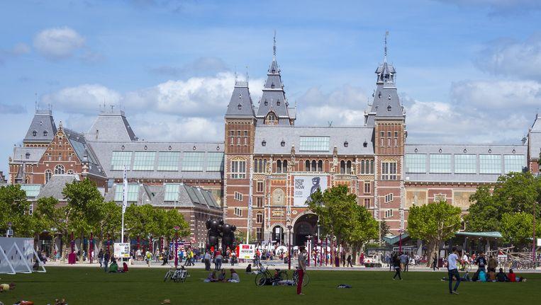 Het Rijksmuseum kan voortaan kunst kwijt in een superdepot in Amersfoort Beeld anp