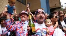 fotoreeks over Een nieuwe babyprins zet VK op zijn kop