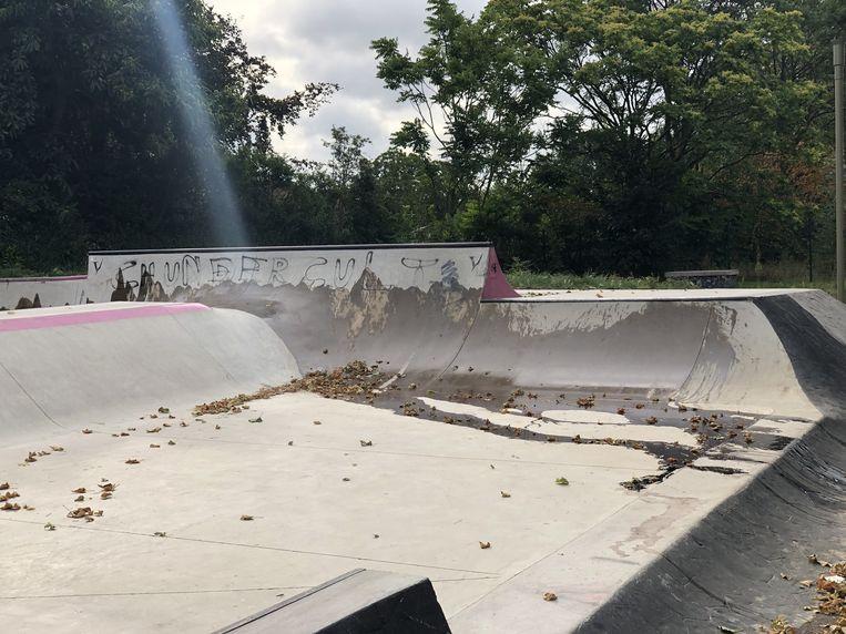 Vandalen maakten het skaten onmogelijk