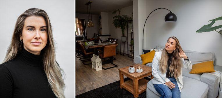 Sophie van Leen (25) liet op haar 21ste haar eerste fronsbehandeling doen. Beeld Shody Careman