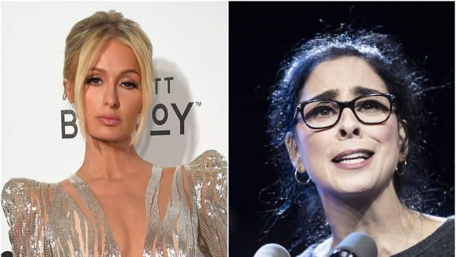 """Paris Hilton heeft Sarah Silverman eindelijk vergeven voor haar gemene uitspraken: """"Het is nooit te laat om je excuses aan te bieden"""""""