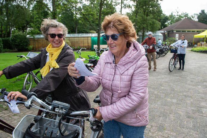 De Oosterhoutse Fietsvierdaagse, met het floralia park als vertrekpunt, is weer van start gegaan.