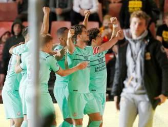 PSV ontsnapt dankzij rake kopbal Van Ginkel aan puntenverlies bij frivool Go Ahead