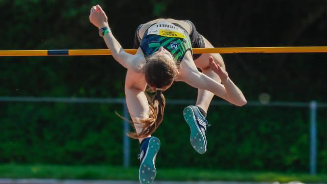 """Yorunn Ligneel pakt goud op BK juniores: """"Ik wou vooral ook een mooie hoogte halen"""""""