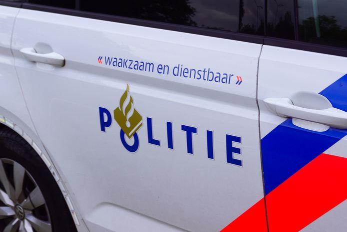 Politie-auto, foto ter illustratie.