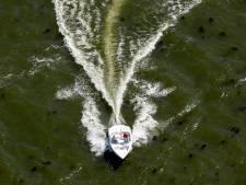 Steeds meer kleine bootjes varen te hard op het Brielse Meer