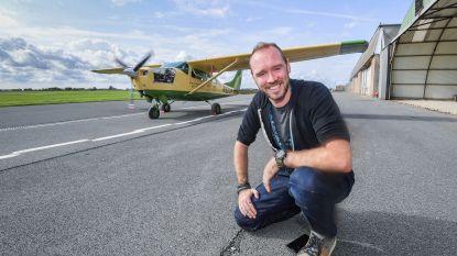 """Nieuw gezicht en nieuw vliegtuig voor gecrashte Virunga-piloot: """"An Lemmens heeft me erdoor gesleurd"""""""