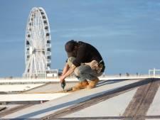 Strandpaviljoens mogen in de winter blijven staan, maar mogen niet open