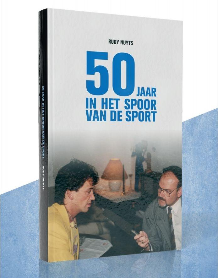 De cover van het boek van sportjournalist Rudy Nuyts