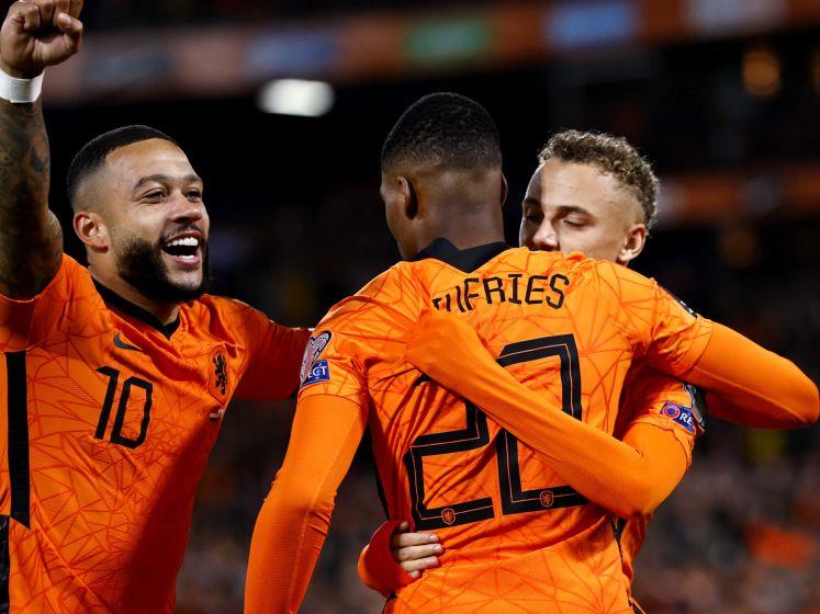 Fris Oranje trakteert sfeervolle Kuip op zes goals tegen Gibraltar