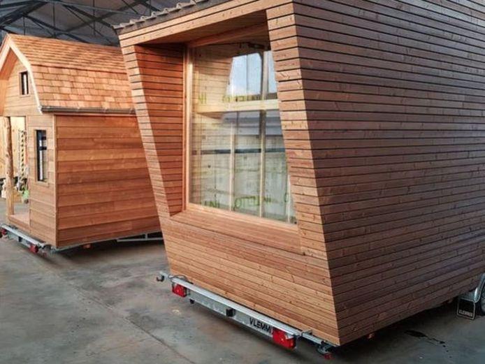 Een tiny house wordt doorgaans op een trailer gebouwd. Die heb je nodig om je tiny house naar de gewenste locatie te vervoeren.