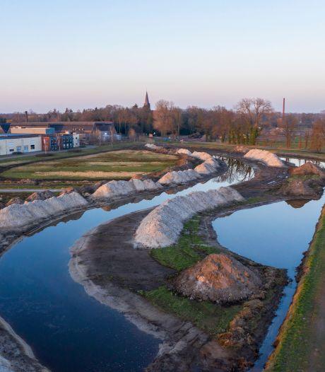 De tuin is al in de maak van de nieuwe wijk achter HAVEP-terrein in Goirle: 'Eindelijk een schop in de grond'