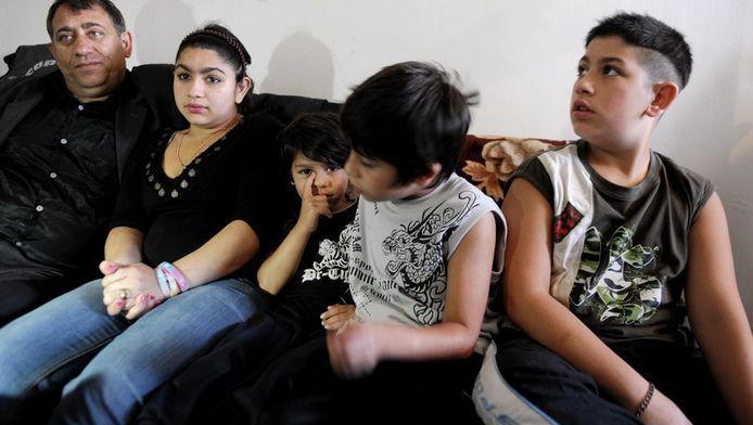 Leonarda Dibrani et sa famille