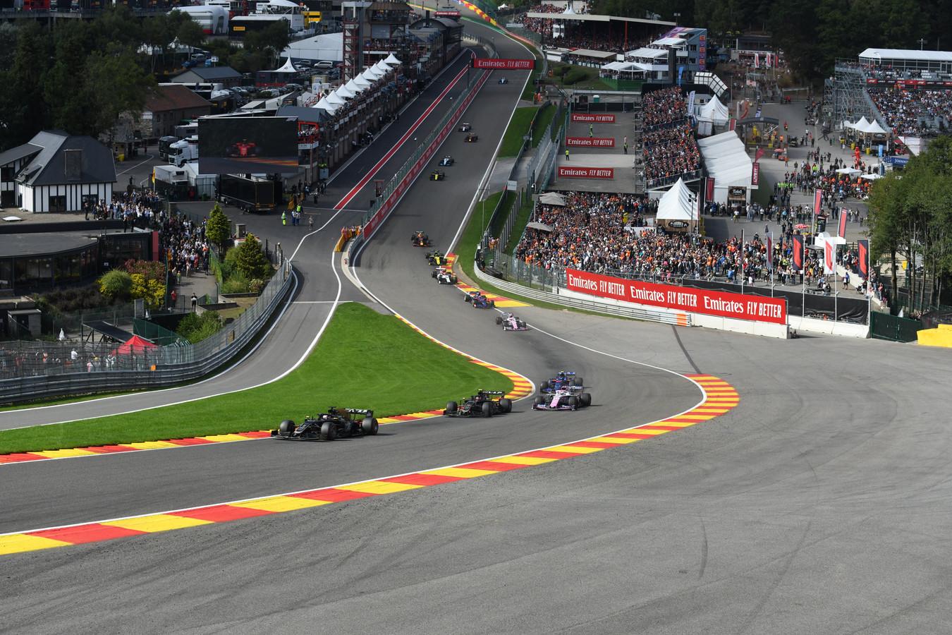 Le GP de Belgique de Formule 1 à Spa-Francorchamps, édition 2019.