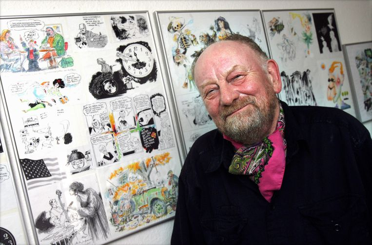 Kurt Westergaard in 2010. Beeld EPA