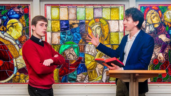 Eli Stok (links) en Robin ten Hoopen
