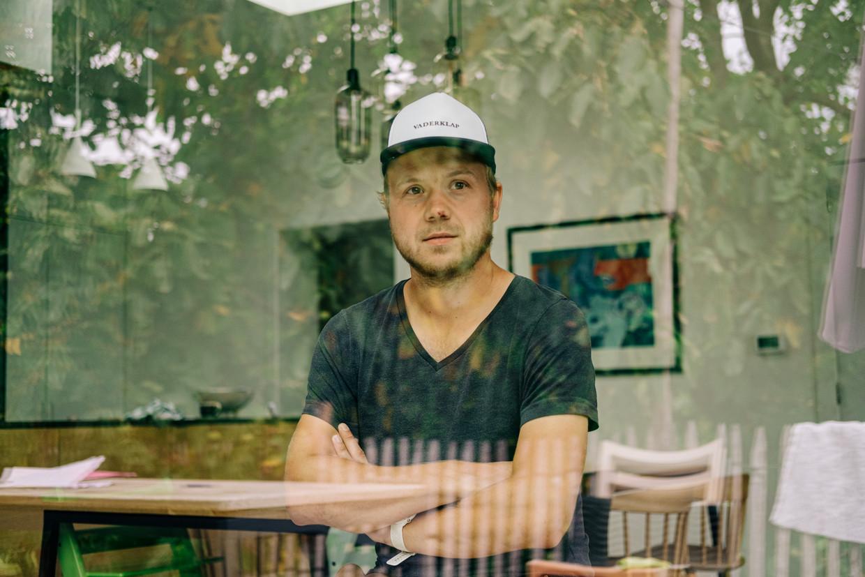 Pieter Declercq, initiatiefnemer van Dadtalks. Beeld Wouter Van Vooren