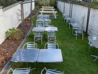 Terrassen open op 8 mei: Brasserie Sofie tovert tuin om in terras
