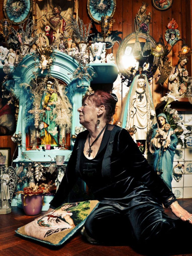 Gerda Brian Foto Jan van Breda Beeld
