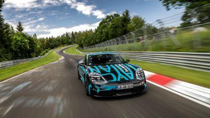 Meteen circuitrecord voor eerste volledig elektrische Porsche